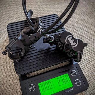 Gewicht Magura Scheibenbremse MT32  VR, 800mm