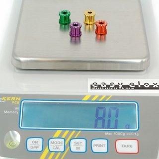 Gewicht Carbocage Kettenblattschrauben Kettenblattschrauben M8x8mm, 4x