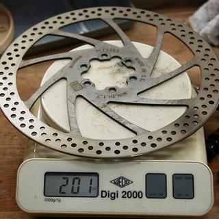 Gewicht Magura Bremsscheibe Gustav M 190mm