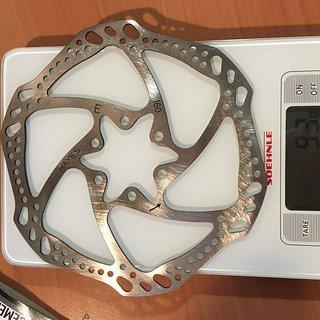 Gewicht Hayes Scheibenbremse L6 Rotor 160mm