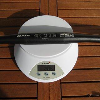 Gewicht Controltech Lenker ONE Flat 31,8 x 660mm