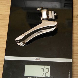 Gewicht Shimano Umwerfer Dura Ace FD-7800 Anlöt