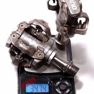 Gewicht Shimano Pedale (Klick) XTR PD-M959