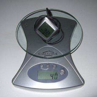 Gewicht Sigma Computer BC 1600