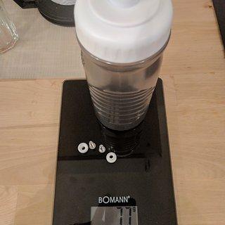 Gewicht Fabric Flasche 600ml 2017 600ml