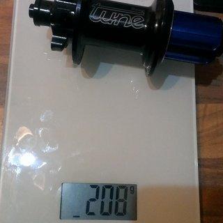 Gewicht Tune Nabe Kong 135mm/QR, 32-Loch