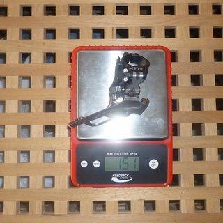 Gewicht Shimano Umwerfer XTR FD-M971 34,9mm