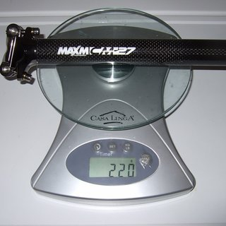 Gewicht Maxm Sattelstütze CM27 27.2 x 350mm