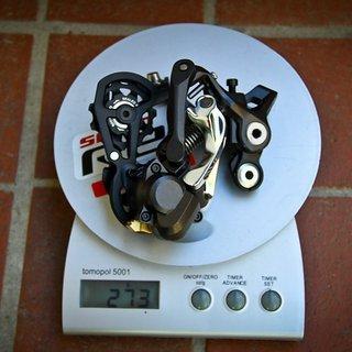 Gewicht Shimano Schaltwerk Saint RD-M820 SS Short Cage