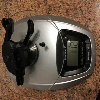 Gewicht Shimano Schalthebel SL-M9100 11-/12-fach | I-Spec EV 11-/12 fach