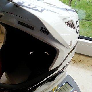 Gewicht Fox Helm Rampage Pro Carbon  XL (61-62cm)