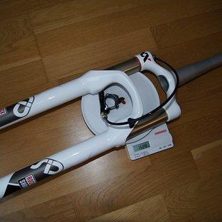 "Gewicht Rock Shox Federgabel SID XX  26"", 100mm, tapered"