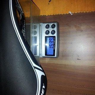Gewicht Ritchey Sattel WCS Carbon Streem 138x280mm