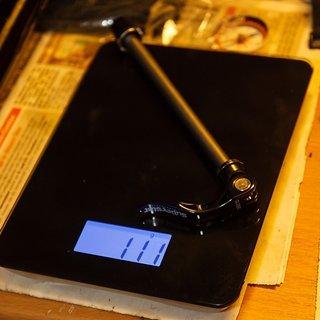 Gewicht Superstar Components Achse Rear QR Through Axle 135 x 10mm
