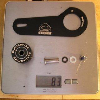 Gewicht Blackspire Kettenführung Stinger 32-40Z, BB