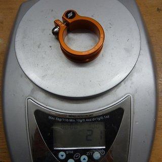 Gewicht Straitline Sattelklemme Sattelklemme 34,9mm