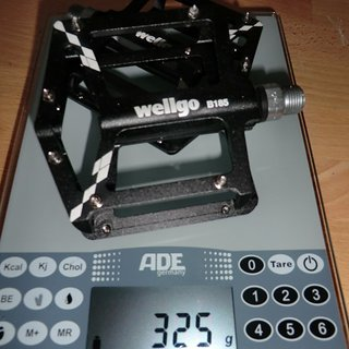 Gewicht Wellgo Pedale (Platform) B185