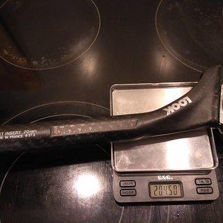 Gewicht Look Sattelstütze Ergopost 27,2 x 230mm