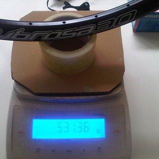 "Gewicht Spank Felge Subrosa Evo 30AL 26"", 559x24.5, 32°"