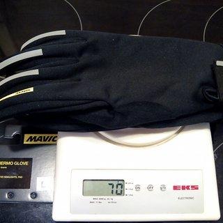 Gewicht Mavic Bekleidung Aksium Thermo Glove L