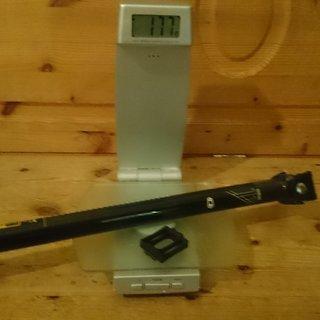 Gewicht Crank Brothers Sattelstütze Cobalt 11 27,2x400mm