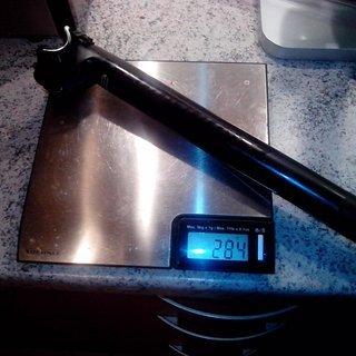 Gewicht Cannondale Sattelstütze C2 27.2 x 400mm