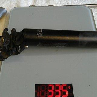 Gewicht FSA Sattelstütze SL 280 Alloy 31.6 x 350mm