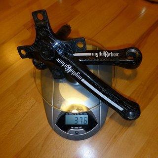Gewicht No-Name Kurbel Mythic Carbon 175mm