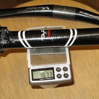Gewicht XLC Sattelstütze Carbon 31.6 x 350mm