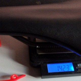 Gewicht Pro Parts Sattel Turnix Carbon 142 mm