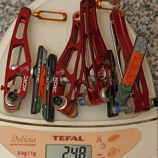 Gewicht KCNC Felgenbremse VB6