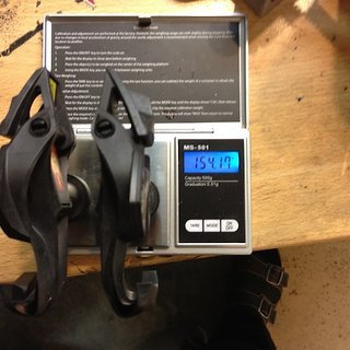 Gewicht Mavic Pedale (Klick) zxellium slr ti