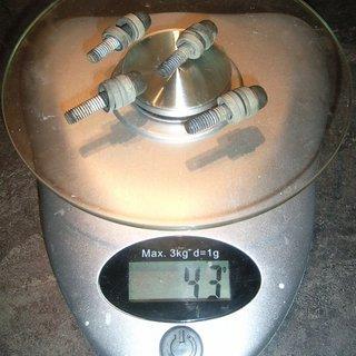 Gewicht Avid Weiteres/Unsortiertes Schrauben Bremszange (2St.)