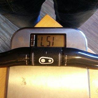 Gewicht Crank Brothers Lenker Cobalt 11 31,8 / 740 / 9°back / 0°up 8rise