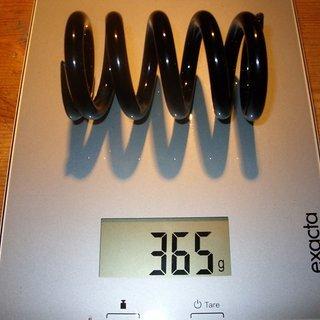 Gewicht Romic Feder Stahlfeder (gepulvert) 850 / 1,5
