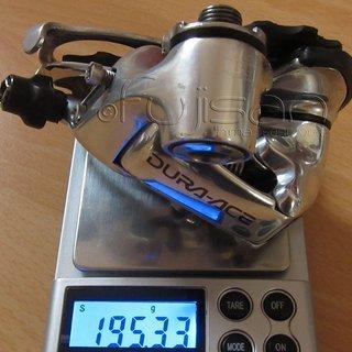 Gewicht Shimano Schaltwerk Dura Ace RD-7700 SS Short Cage