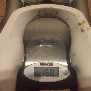 "Gewicht Rock Shox Federgabel Reba SL 26"", 100mm, 1-1/8"""
