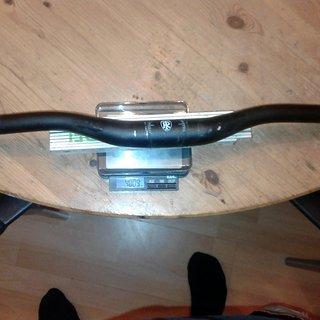 Gewicht Ritchey Lenker OEM Rizer 31.8mm, 680mm