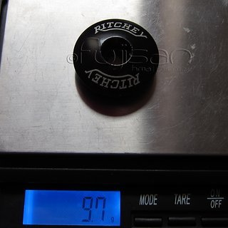 """Gewicht Ritchey Ahead-Kappe Top Cap 1 1/8"""""""