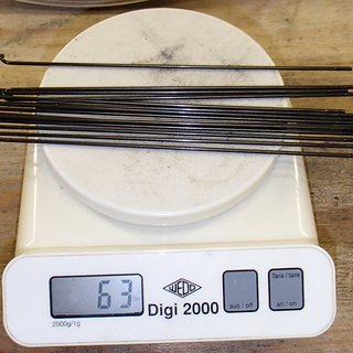 Gewicht Sapim Speiche Leader 176mm, 14 Stück