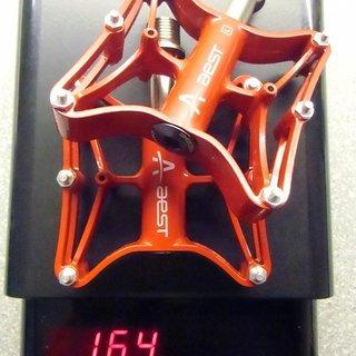 Gewicht Aest Pedale (Platform) YRPD-12T/CR 92 x 80 x 17mm