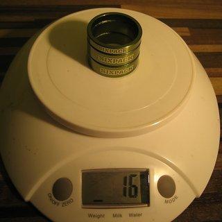 Gewicht Sixpack Spacer Al-Spacer Set 1⅛'', 5/10/10mm