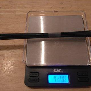 Gewicht Sapim Speiche D-Light 282mm, 14 Stk.