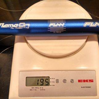 Gewicht FUNN Lenker Flame On 31.8mm, 710mm