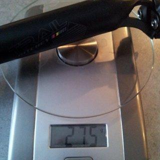 Gewicht Ritchey Sattelstütze WCS Trail Aluminium 30,9 x 400