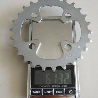 Gewicht Shimano Kettenblatt Deore FC-M442/443 64mm, 26Z