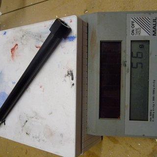 Gewicht Alutech Achse Steckachse (Al) 135 x 12mm