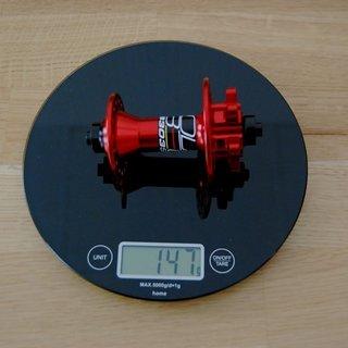 Gewicht Veltec Nabe 303SL 100mm/QR, 32-Loch