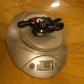 Gewicht SRAM Schalthebel X0 Trigger 2-fach