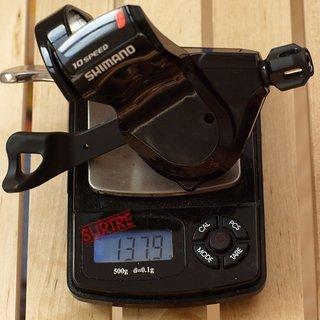 Gewicht Shimano Schalthebel SL-R780 10-fach
